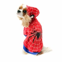 Superhero Dog Costume - Red Spider Dog | BaxterBoo