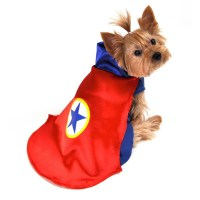 Superhero Dog Halloween Costume by Anit - Red | BaxterBoo