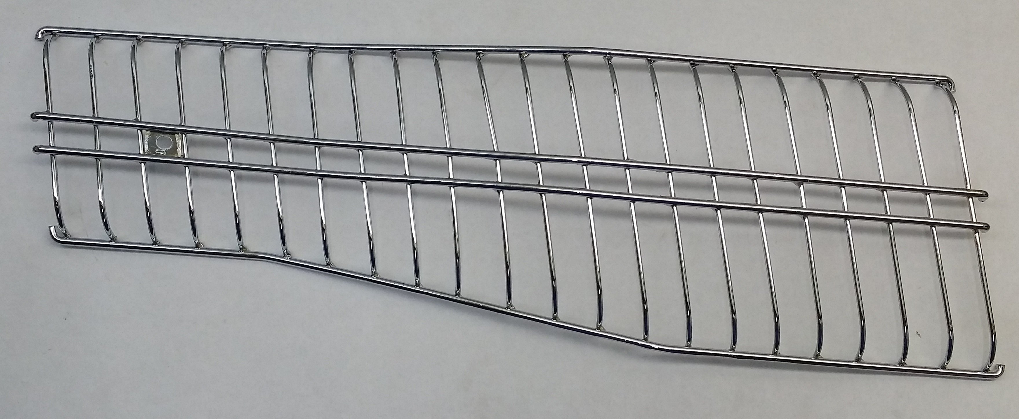 70 Heat Shield With Mounting Hardware Chrome
