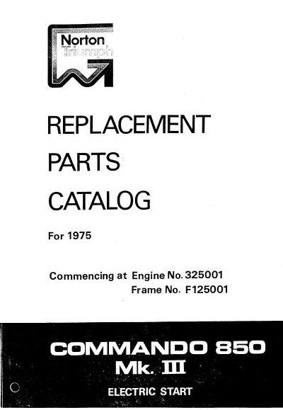 Norton-Triumph 1975 Commando 850 MK3