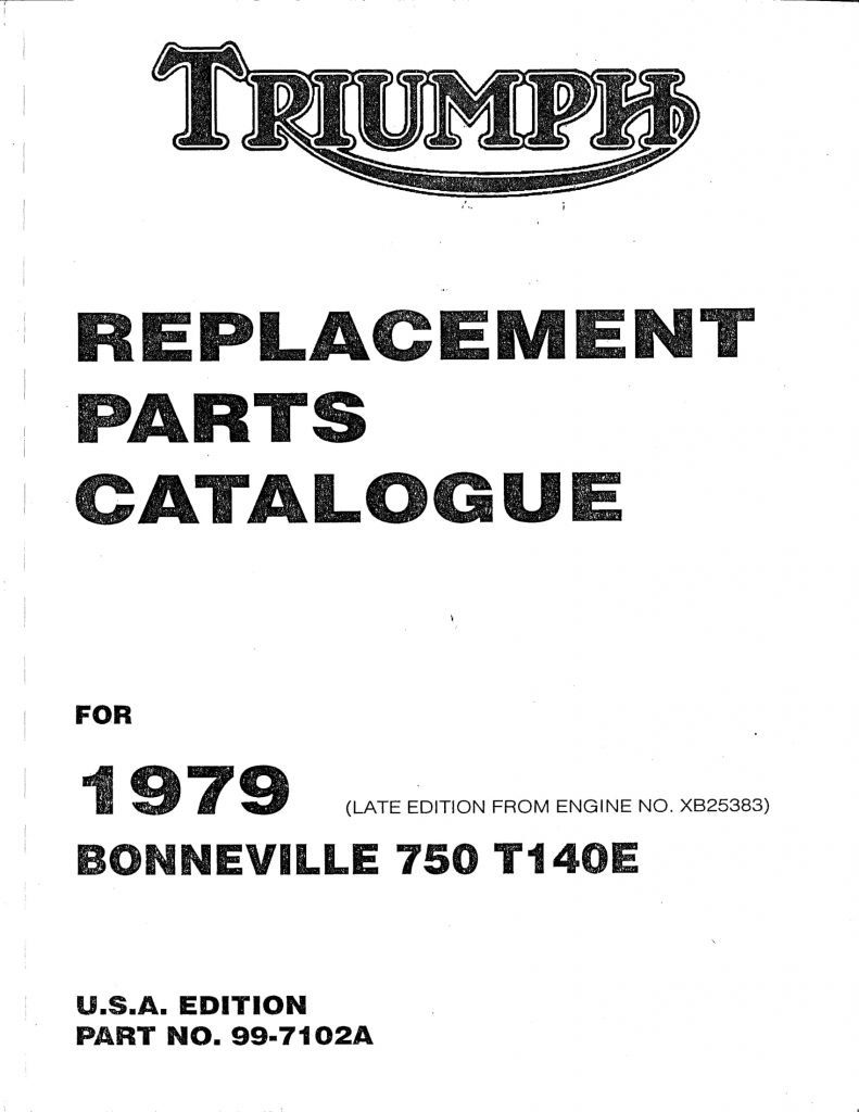 hight resolution of 1979 bonneville t140e usa edition
