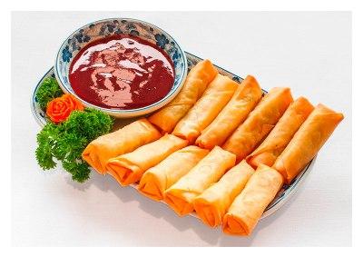 Spring-rolls-&-Sweet-Chilli-Sauce