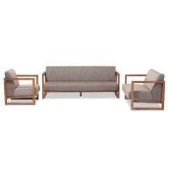 3 Piece Living Room Table Set Blue Brown Curtains Wholesale Sofa Furniture