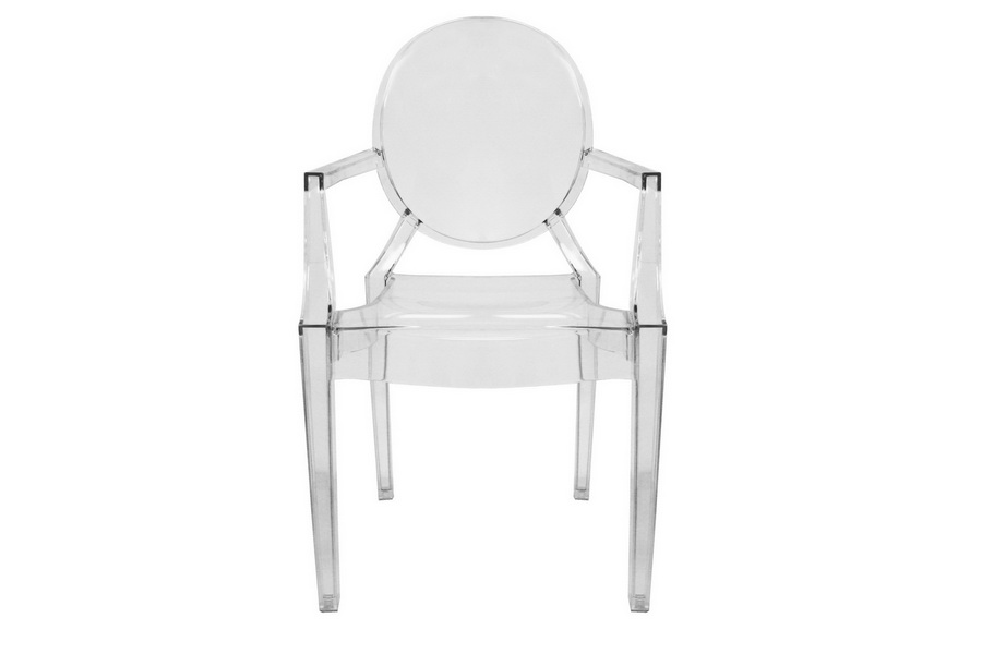 ghost chairs cheap wheel chair gumtree armed clear acrylic stackable affordable modern baxton studio arm set of 2