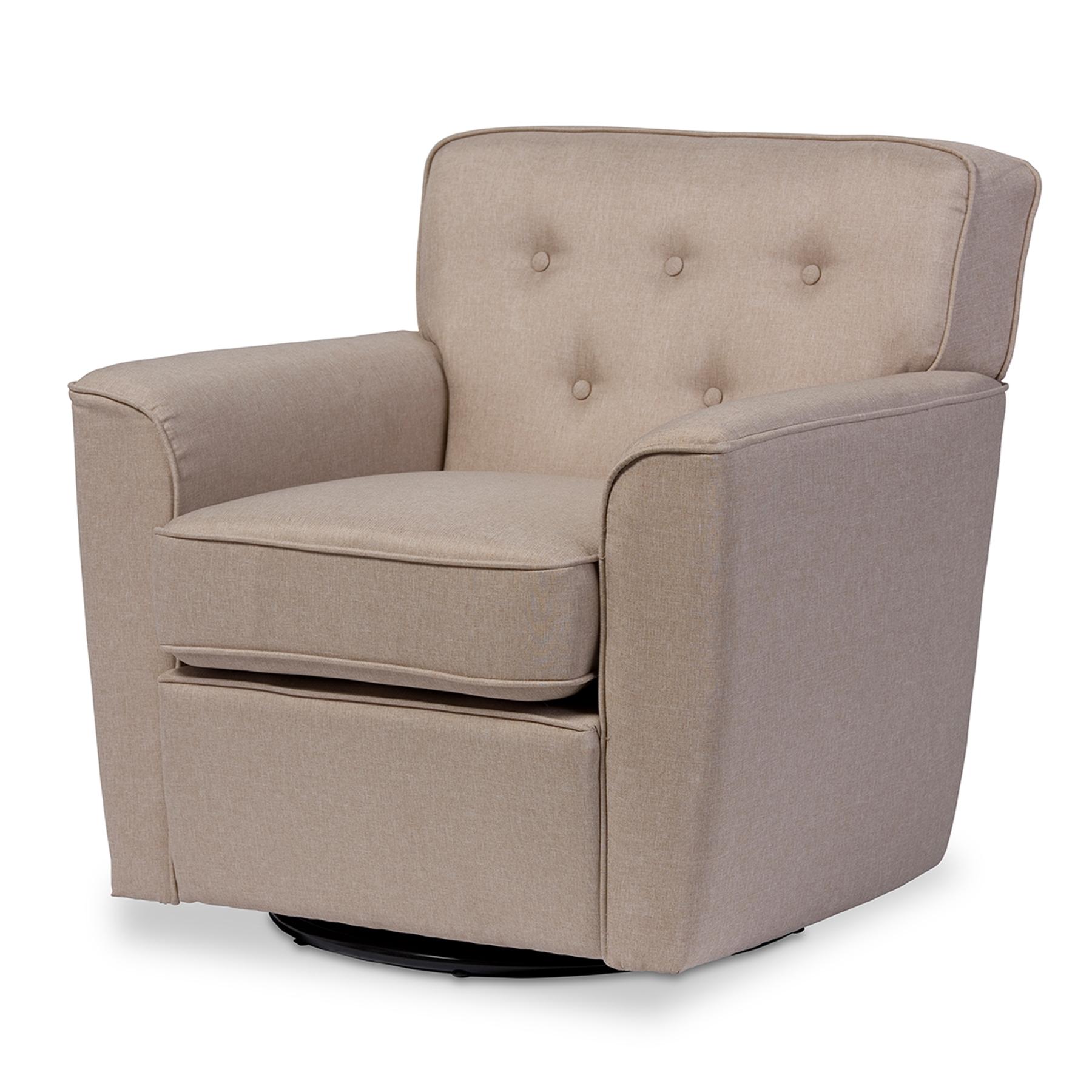 swivel chair national bookstore grosfillex plastic chairs baxton studio canberra modern retro contemporary beige