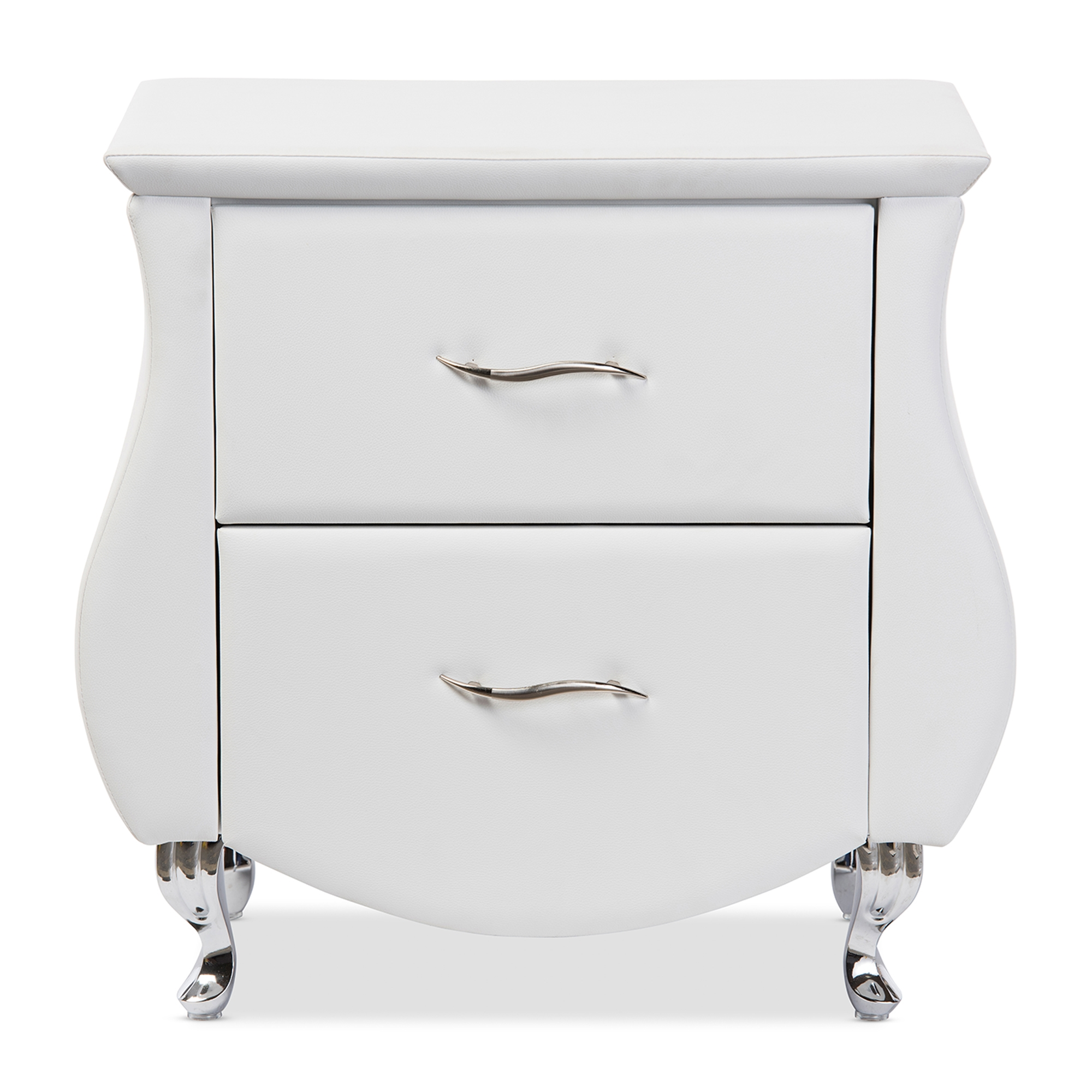 Baxton Studio Erin Modern And Contemporary White Faux