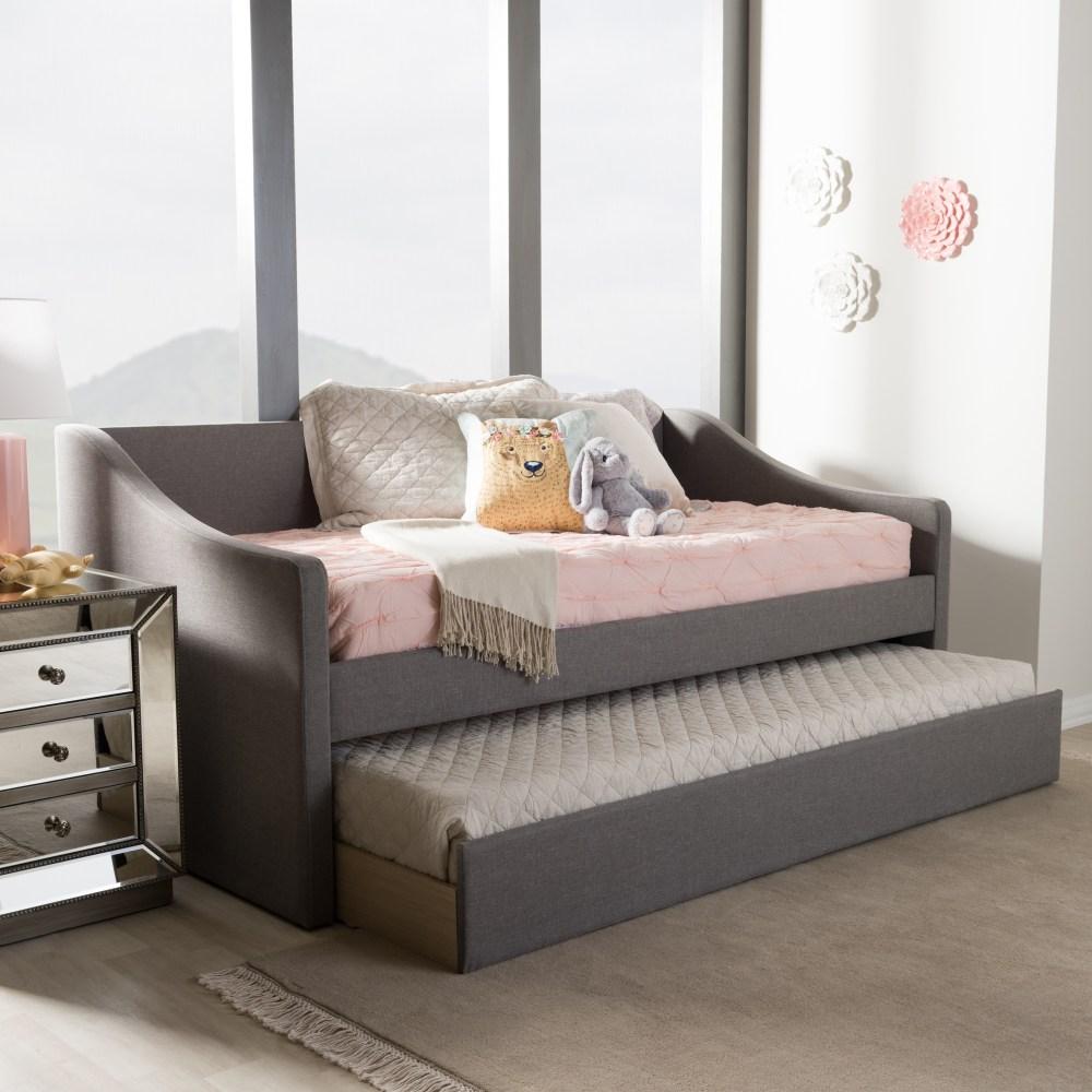 Baxton Studio Barnstorm Modern And Contemporary Grey