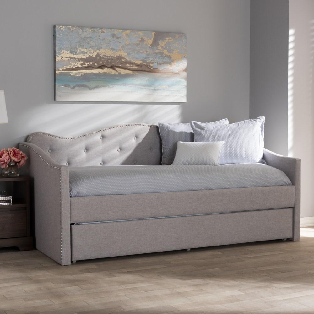 Baxton Studio Kaija Modern And Contemporary Greyish Beige