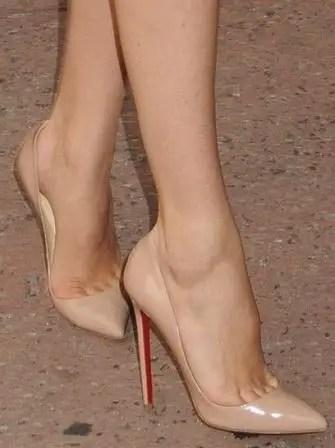 Nude Rengi Topuklu Ayakkabı Modelleri