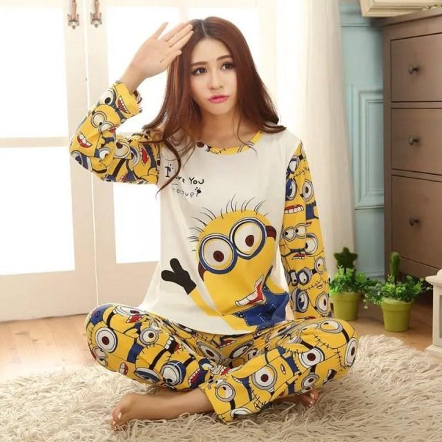 Genç Bayan Pijama Modelleri