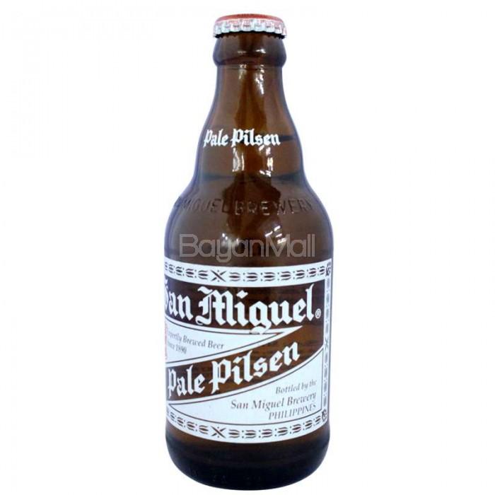 San Miguel Pale Pilsen 320mL in a bottle