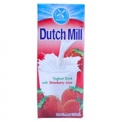 Sheets For Sofa Bed Leg Extensions Dutch Mill Yoghurt Drink With Strawberry Juice 180ml