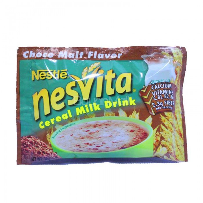 Nesvita Cereal Milk Drink Choco Malt Flavor 30g