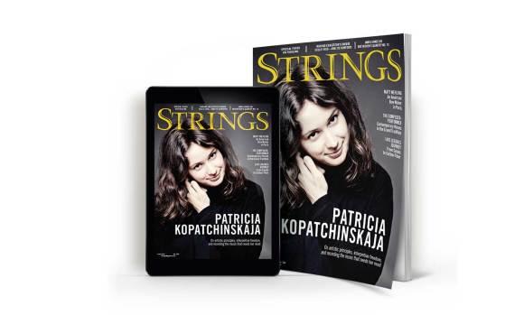 Strings-magazine-cover-featuring-violinist-Patricia-Kopatchinskaja