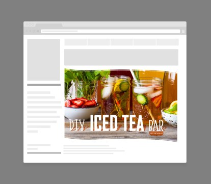 DIY Iced Tea Bar Web Retargetting Ads for Numi Organic Tea by Bayard Heimer
