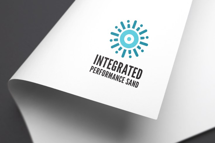 Inegrated Perforamance Sand - Full-Color Logo by Bayard Heimer MockUp