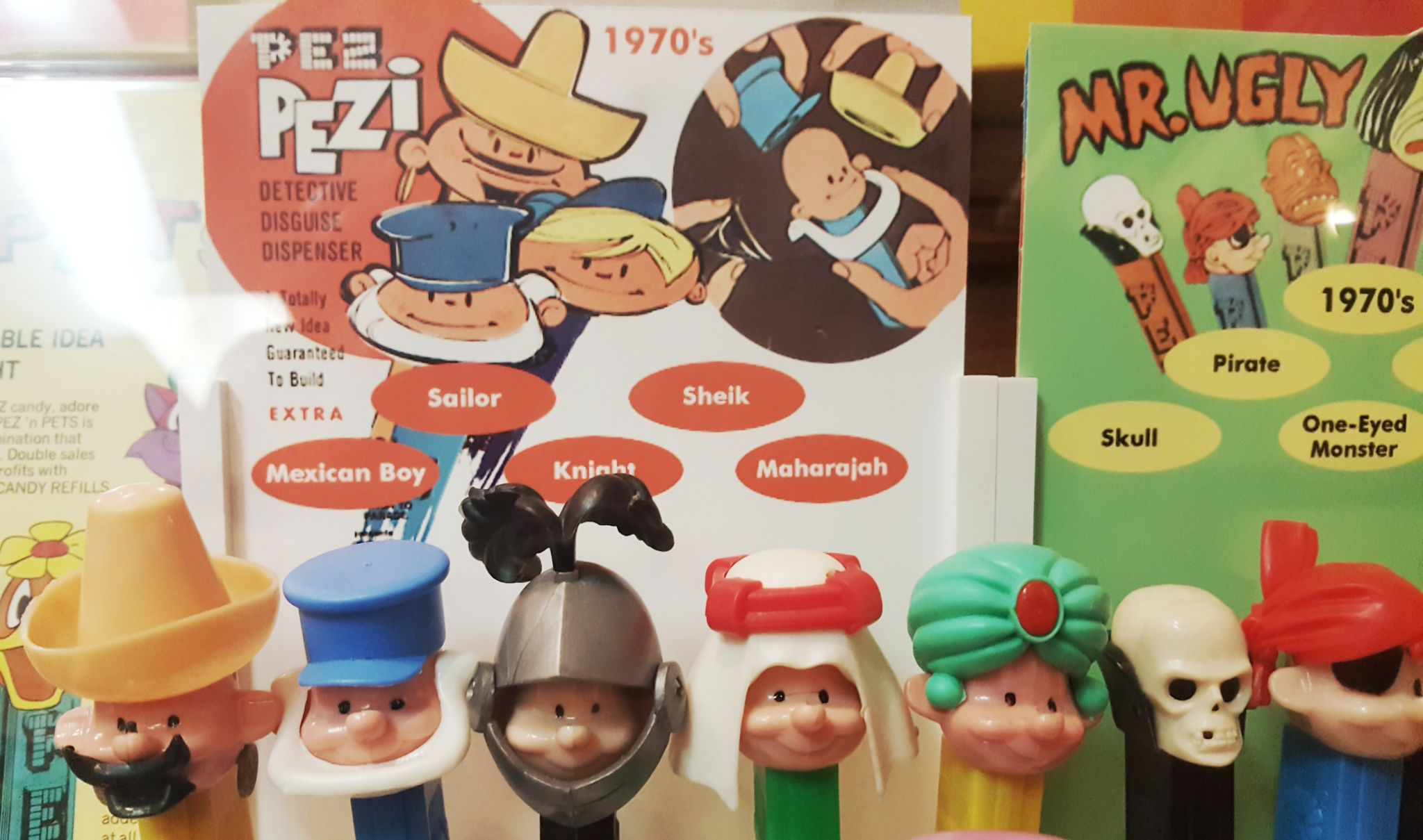 More of the Pez collection at the Pez Museum