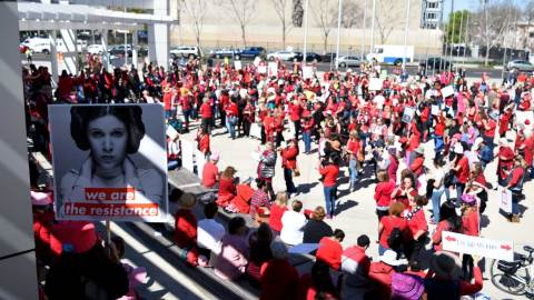 This is What Democracy Looks Like: San Jose Stands Up During a Day Without a Woman