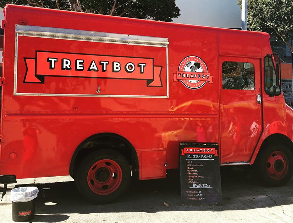 The Treatbot food truck.