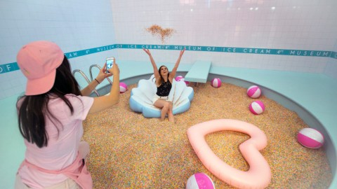 Sweet stuff in San Francisco: Museum of Ice Cream extends its stay