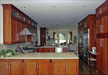 transitional cabinets 9