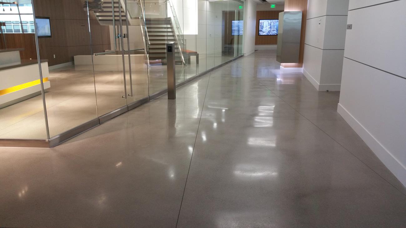 Polished Concrete Floor by BAC  Polished  Decorative