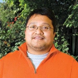 Portrait of an Asian man.