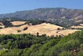 Solano County hills