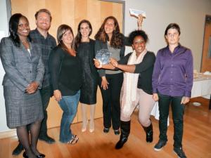 HIP team receives award