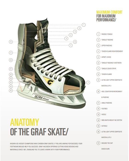 Anatomy of graf skate
