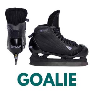 Goalie skates