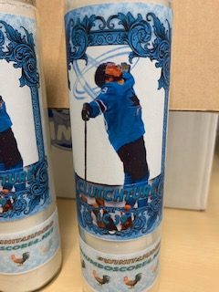 Playoff Candle featuring Logan Couture