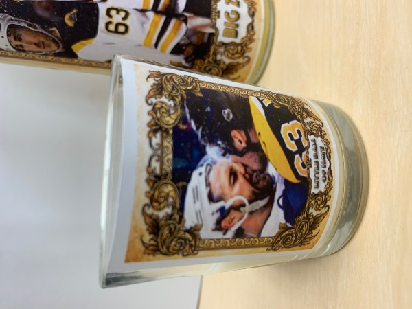 Playoff Candle featuring Brad Marchand