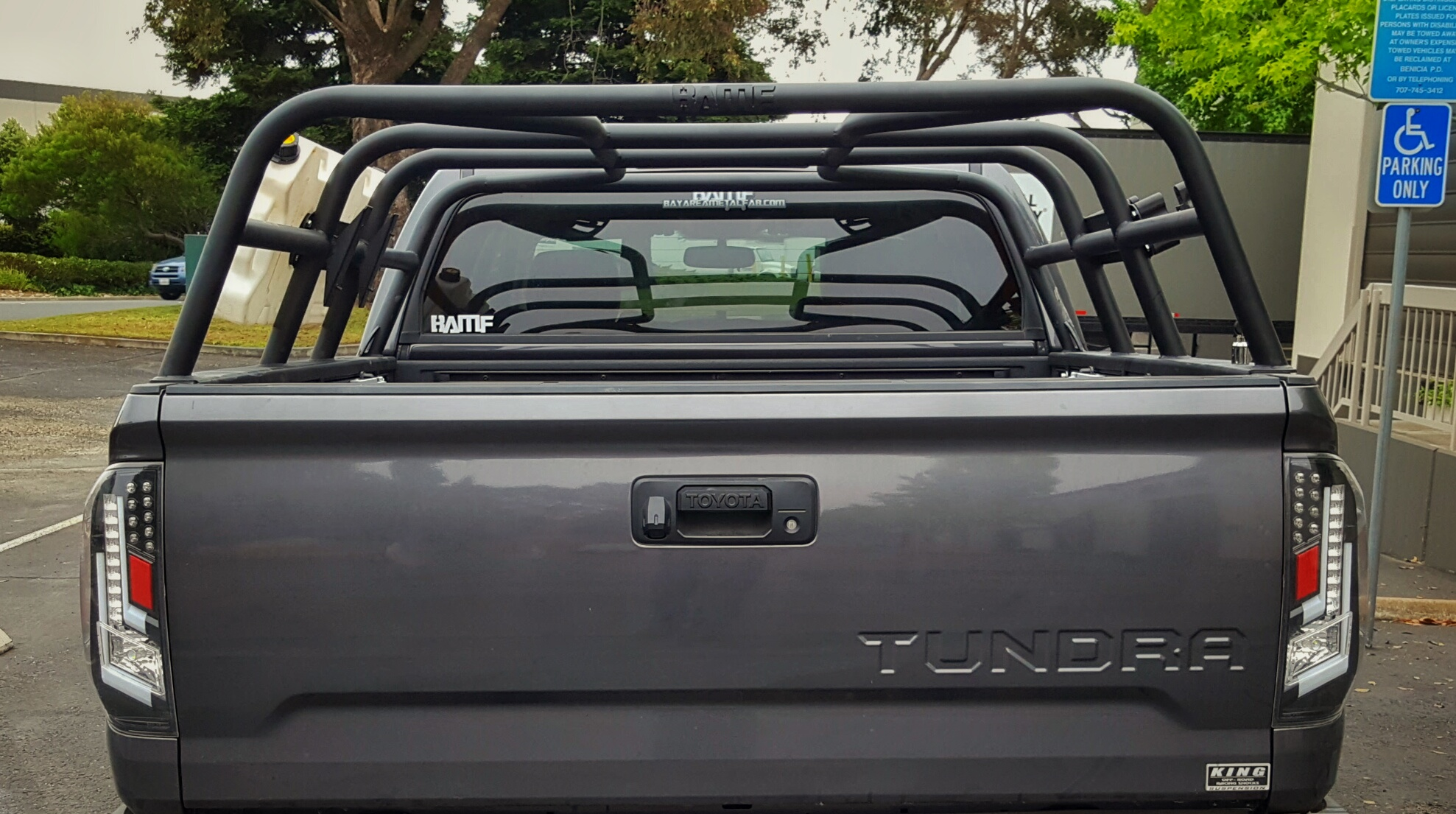 2007 to 2018 Tundra CrewMax Bed rack