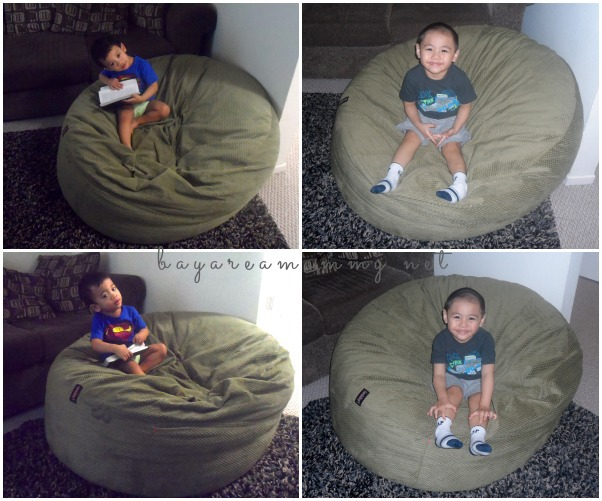 CordaRoys The Awesome Bean Bag With A Bed Inside  Bay