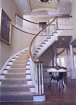 Custom Stair And Handrail Contractor Bay Area Northern Ca   Stair Railing Company Near Me   Stair Treads   Deck   Glass Railing   Stair Systems   Iron Balusters