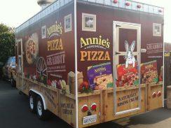 annies food truck wrap