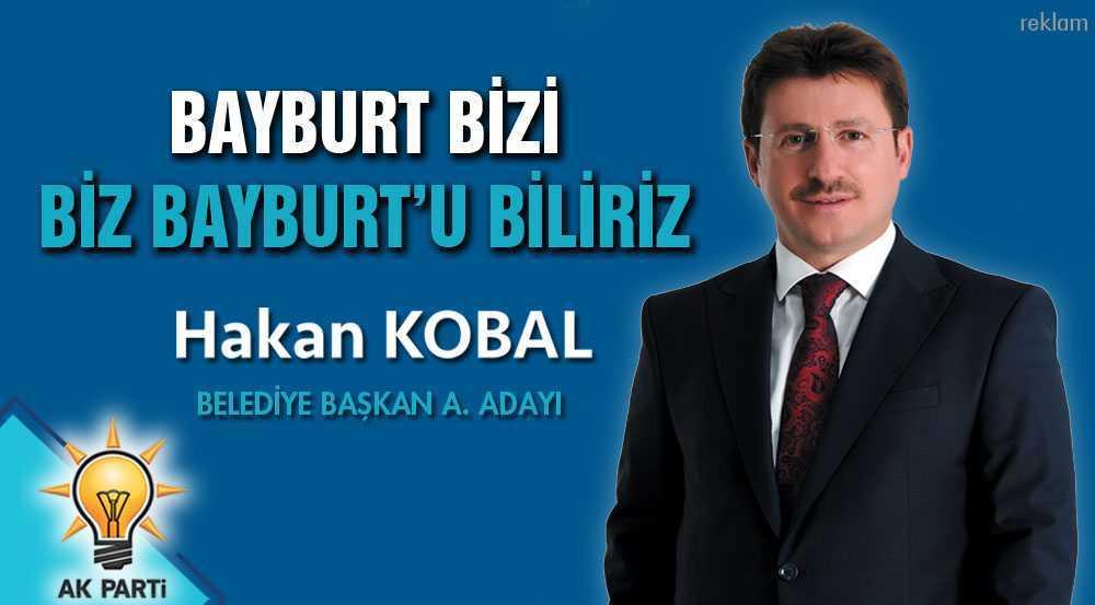 Hakan Kobal, AK Parti Bayburt Belediye Başkan Aday Adayı