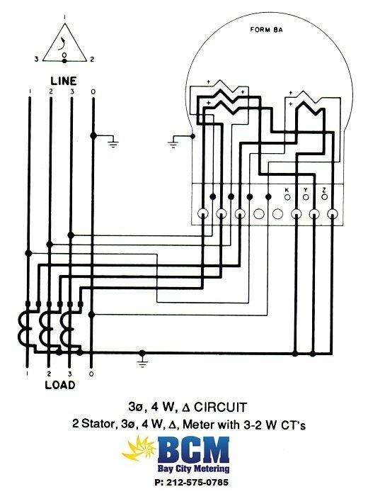 ct electric meter wiring diagram starter 400 amp socket milbank ~ elsavadorla