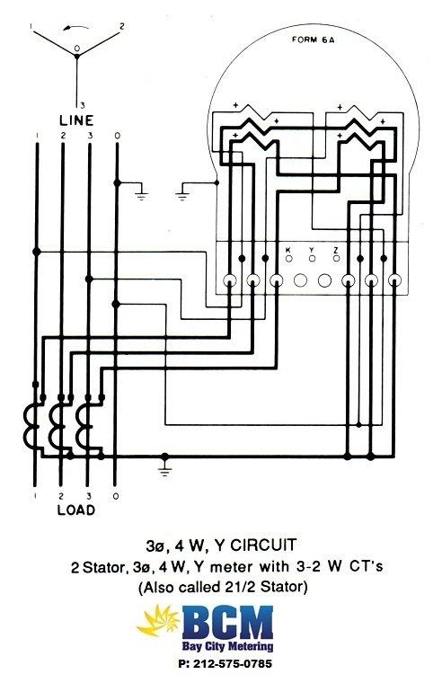 meter wiring diagram meter circuit diagrams