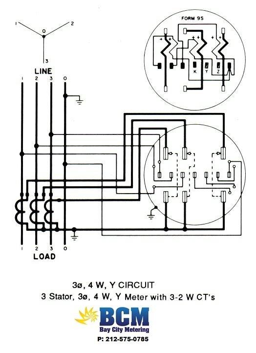 electrical meter base wiring diagram general electric dryer diagrams - bay city metering nyc
