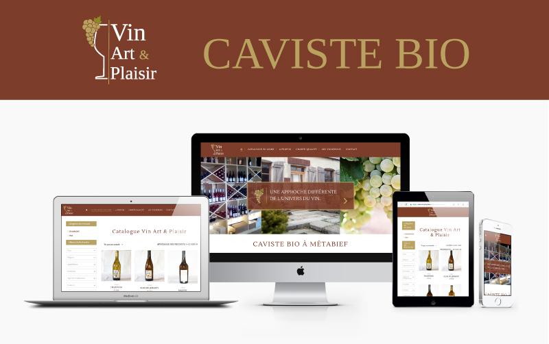 Logo, Print & Web – Vin Art & Plaisir