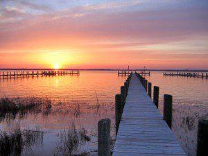 docks-sunset