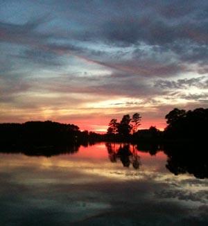 onancock sunset