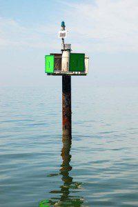 Chesapeake Bay channel marker