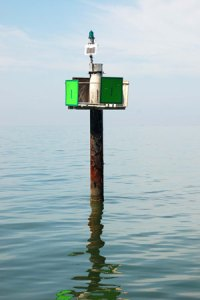 Chesapeake Bay channel marker