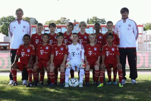 The FC Bayern U11 junior team 2011/2012