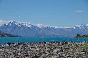 Südinsel Gletschersee