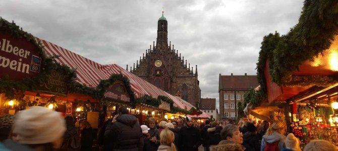Impressionen vom Nürnberger Christkindlesmarkt