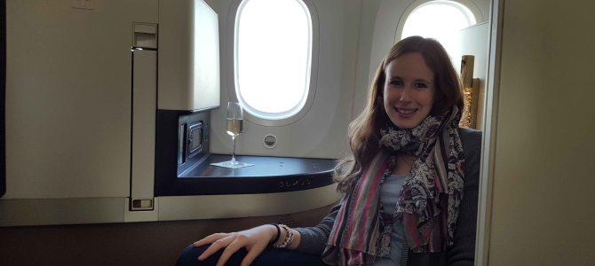 Über den Wolken… Entspanntes Reisen mit Etihad Airways